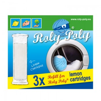 RolyPoly replacement cartridges, set of 3