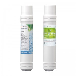 Carbonit EM-X Block + DM UF Membrane Filter - MMP