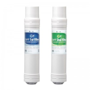 Filtros de DM y carbón activado + DM y cerámicas EM - MMP